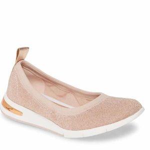 NWT MICHAEL Michael Kors Upton Sport Ballet Shoe